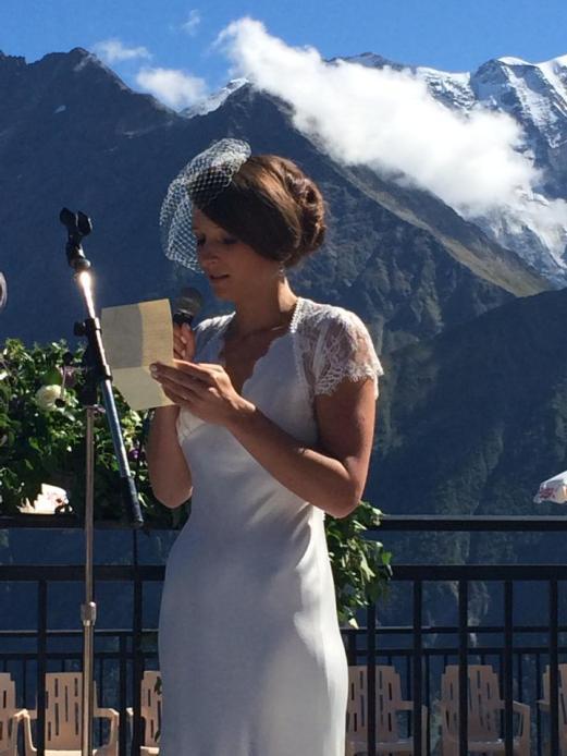 Chignon mariée Hyères PACA