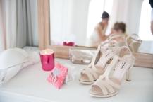 Backstage maquillage mariée Ile de Bendor