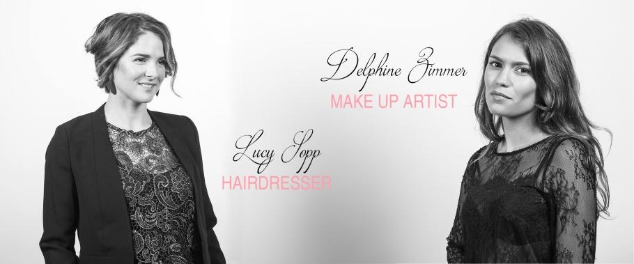 Make up artist - maquilleuse professionnelle Delphine Zimmer - Hairdresser - Lucy Sopp coiffeuse à domicile parlant anglais hyères chamonix Photographer : Gilles Zimmer - http://www.photogz83.com/